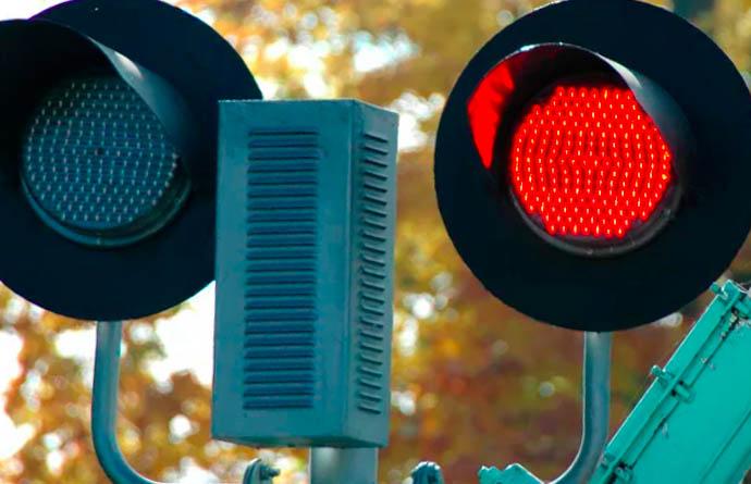 Поворот на красный свет налево штраф